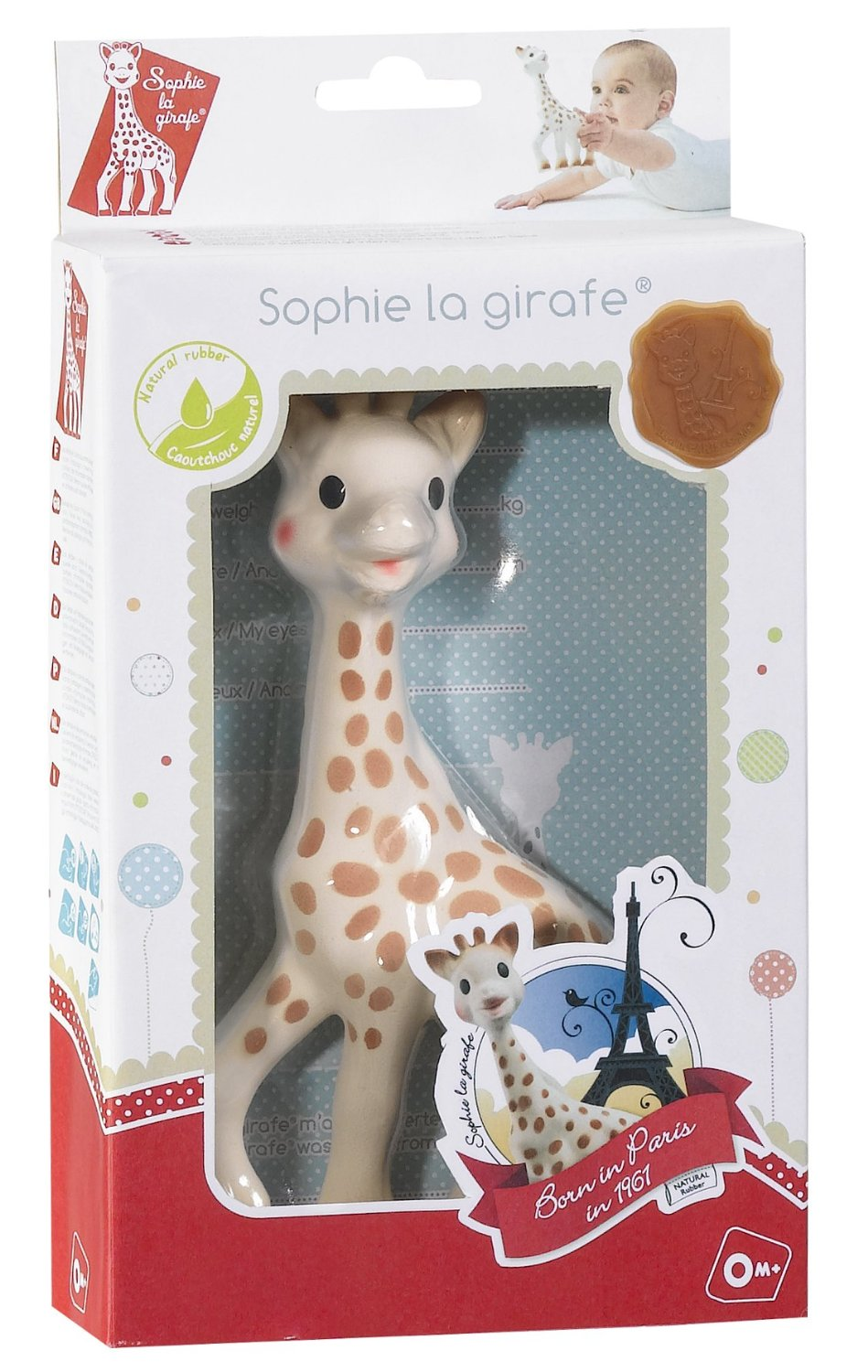 sophie la girafe en coffret cadeau. Black Bedroom Furniture Sets. Home Design Ideas