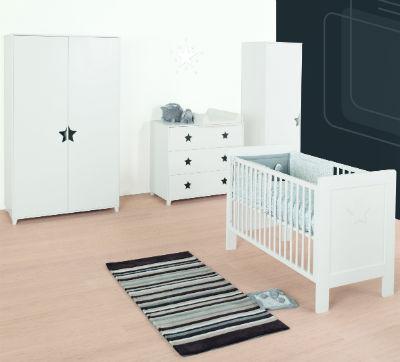 Armoire 1 porte collection star quax for Chambre quax