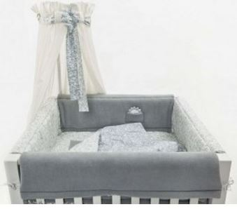 ciel de lit avec lien d coratif quax. Black Bedroom Furniture Sets. Home Design Ideas