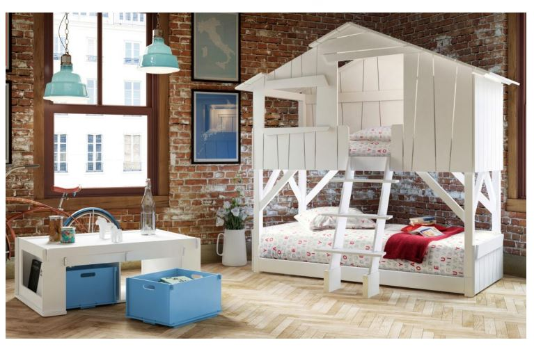 lit cabane enfant mathy by bols. Black Bedroom Furniture Sets. Home Design Ideas