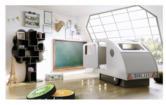 lit enfant caravane mathy by bols. Black Bedroom Furniture Sets. Home Design Ideas