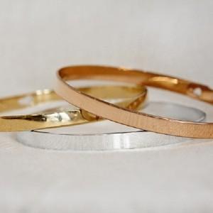 Bracelet 3 joncs personnalisés chez Tendre Amour