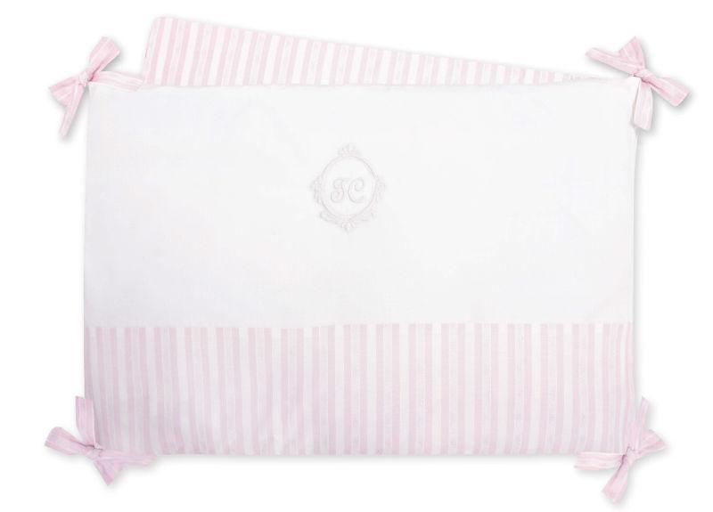 tour de lit bébé tartine et chocolat Tour de lit garda rose pâle adaptable Tartine et Chocolat   Tendre  tour de lit bébé tartine et chocolat