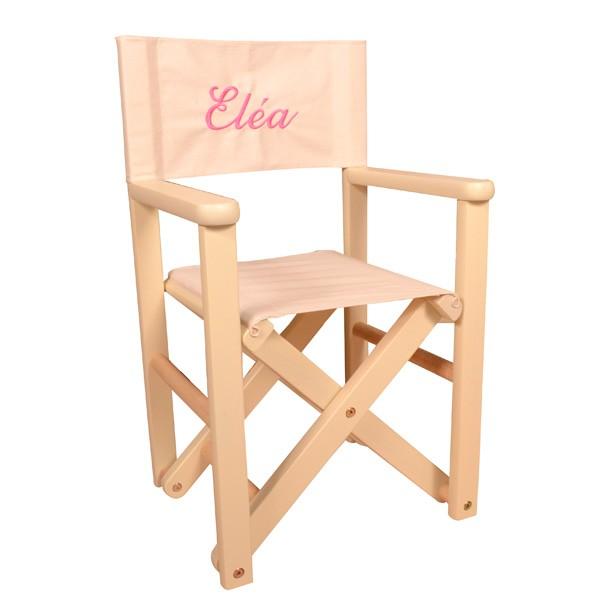 fauteuil enfant metteur en scne personnalis - Fauteuil Metteur En Scene