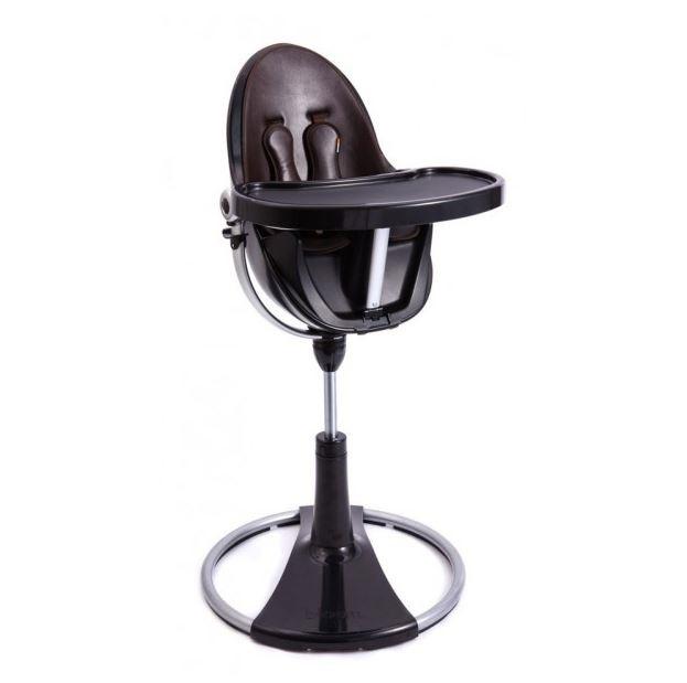 chaise haute bloom fresco chrome ch ssis blanc ou noir. Black Bedroom Furniture Sets. Home Design Ideas
